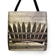 Collect Your Thoughts Quote Tote Bag