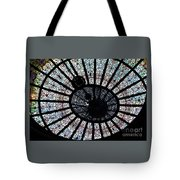 Collectible Stained Glass Tiffany Dome Tote Bag