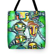 Collective Minds Tote Bag