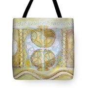 Collective Unconscious Three Equals One Equals Enlightenment Tote Bag