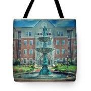 College Fountain Tote Bag