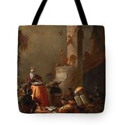 College Of Animals 1655 Tote Bag