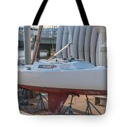 College Of Charleston Sailing Tote Bag