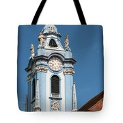 Collegiate Church Blue Tower Tote Bag