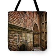 Colliding Walls Tote Bag