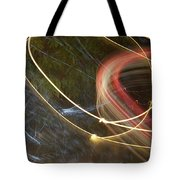 Colliding Worlds  Tote Bag by Michael Lucarelli