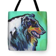 Collie Collie Tote Bag