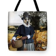 Collie Smooth - Smooth Collie Art Canvas Print - The Harvesters Tote Bag