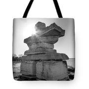 Collingwood Inukshuk Tote Bag