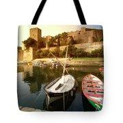 Collioure Castle Tote Bag