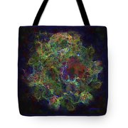 Collision Of Worlds Tote Bag