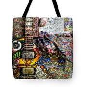 Collorfull Music Tote Bag