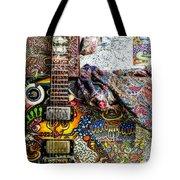 Collorfull Music Tote Bag