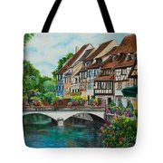 Colmar In Full Bloom Tote Bag