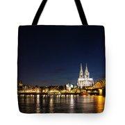 Cologne At Night Tote Bag