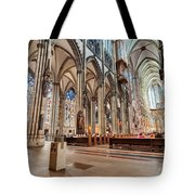 Cologne Cathedral Interior Tote Bag