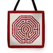 Cologne - Red Earth Tote Bag