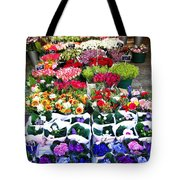 Cologne Flowers Tote Bag