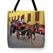 Colombia Carriage Tote Bag