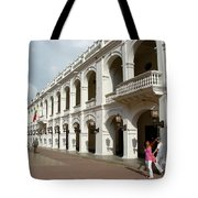 Colombia Courtyard Tote Bag