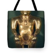 Colombia: Gold Figure Tote Bag