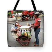 Colombia Srteet Cart Tote Bag