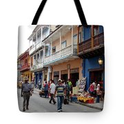 Colombia Streets Tote Bag