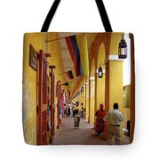 Colombia Walkway Tote Bag