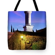 Colonia Lighthouse Tote Bag