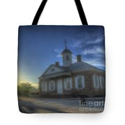 Colonial Courthouse  Tote Bag