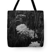 Colonial Garden At Twilight Tote Bag