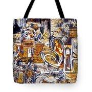 Colonial Heritage - Panel 1 Tote Bag