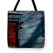 Colonial Red Door Newport Rhode Island Tote Bag