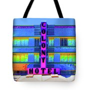 Colony Hotel Palm Tote Bag