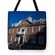 Colony House Newport Rhode Island Tote Bag