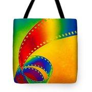 Color 35mm Strip Tote Bag
