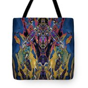 Color Abstraction Xxi Tote Bag