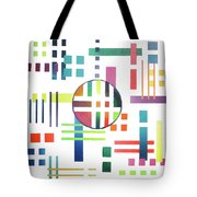 Color And Form Tote Bag