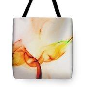 Color And Smoke I Tote Bag