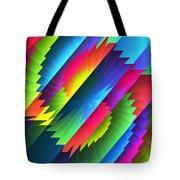 Color Blast Tote Bag