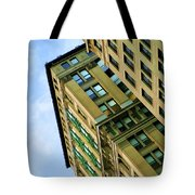 Color Buildings Architecture New York  Tote Bag