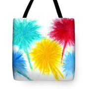 Color Burst 1 Tote Bag