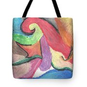 Color Burst Tote Bag