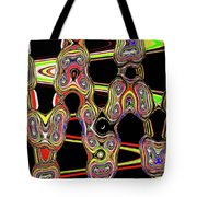 Color Circles Abstract Tote Bag