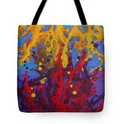 Color Clash Tote Bag