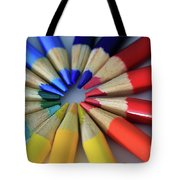 Color Coded Tote Bag by Tracy Hall