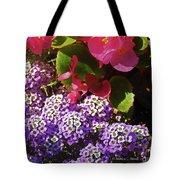 Color Combination Flowers Cc63 Tote Bag
