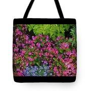 Color Combination Flowers Cc73 Tote Bag