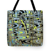 Color Combo Abstraction Tote Bag