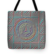 Color Design Tote Bag